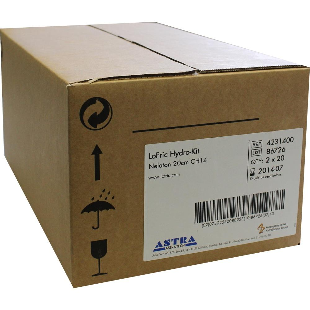 06576155, LoFric Hydro-Kit Nelaton 20cm CH14, 40 ST
