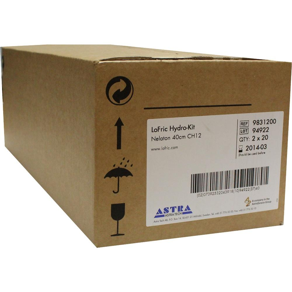 LOFRIC Hydro-Kit Katheter Nelaton Ch 12 40 cm