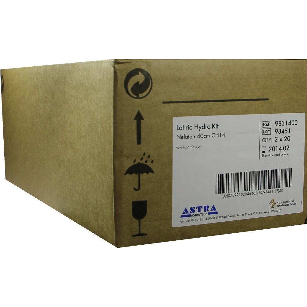 06576250, LoFric Hydro-Kit Nelaton 40cm CH14, 40 ST