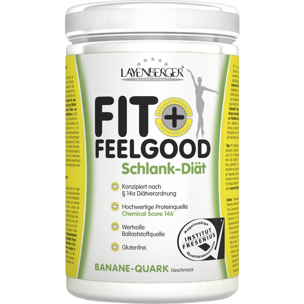 06578289, Layenberger Fit+Feelgood SLIM Mahlz.Ersatz Ban-Qua, 430 G