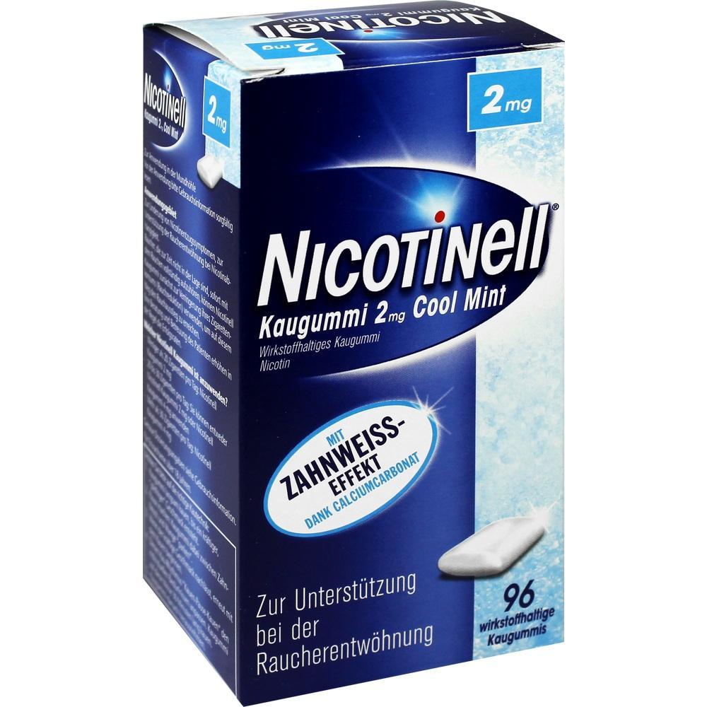 06580352, Nicotinell Kaugummi Cool Mint 2mg, 96 ST