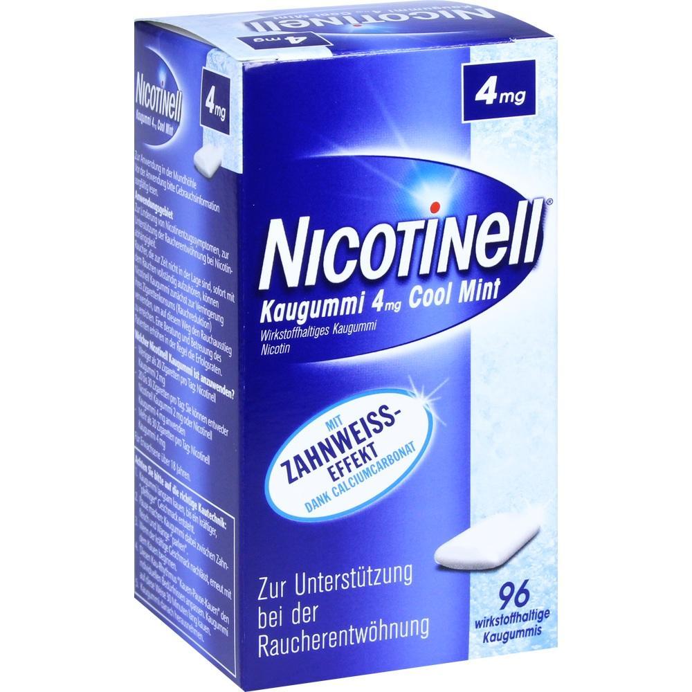 06580375, Nicotinell Kaugummi Cool Mint 4mg, 96 ST