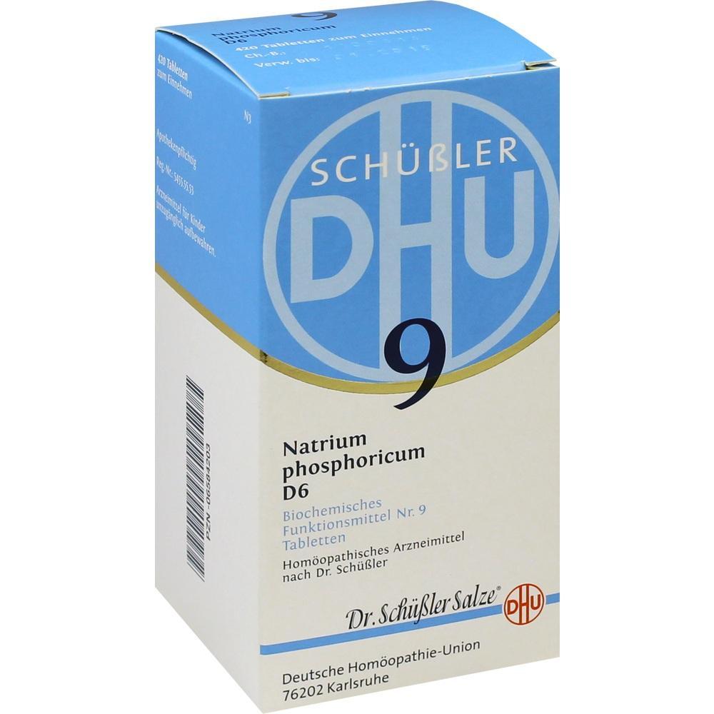 06584203, BIOCHEMIE DHU 9 Natrium phosphoricum D 6 Tabl., 420 ST
