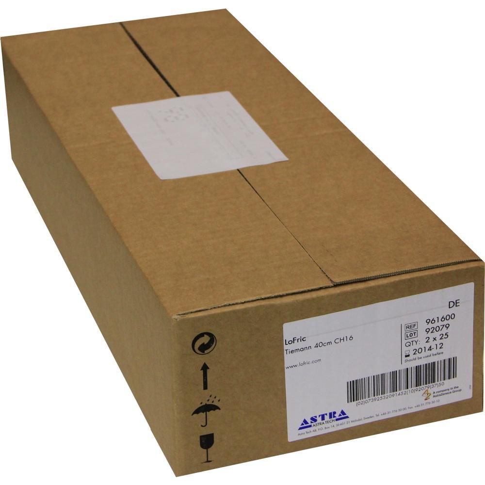 06586159, LoFric Tiemann 40cm CH16, 50 ST