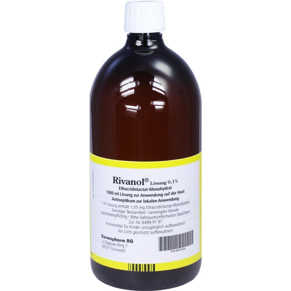 06618209, RIVANOL LOESUNG 0.1%, 1000 ML