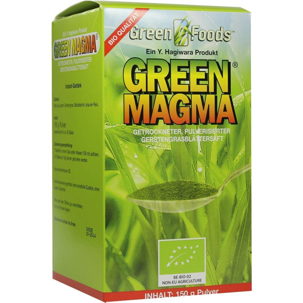 06641154, GREEN MAGMA Gerstengrasextrakt, 150 G