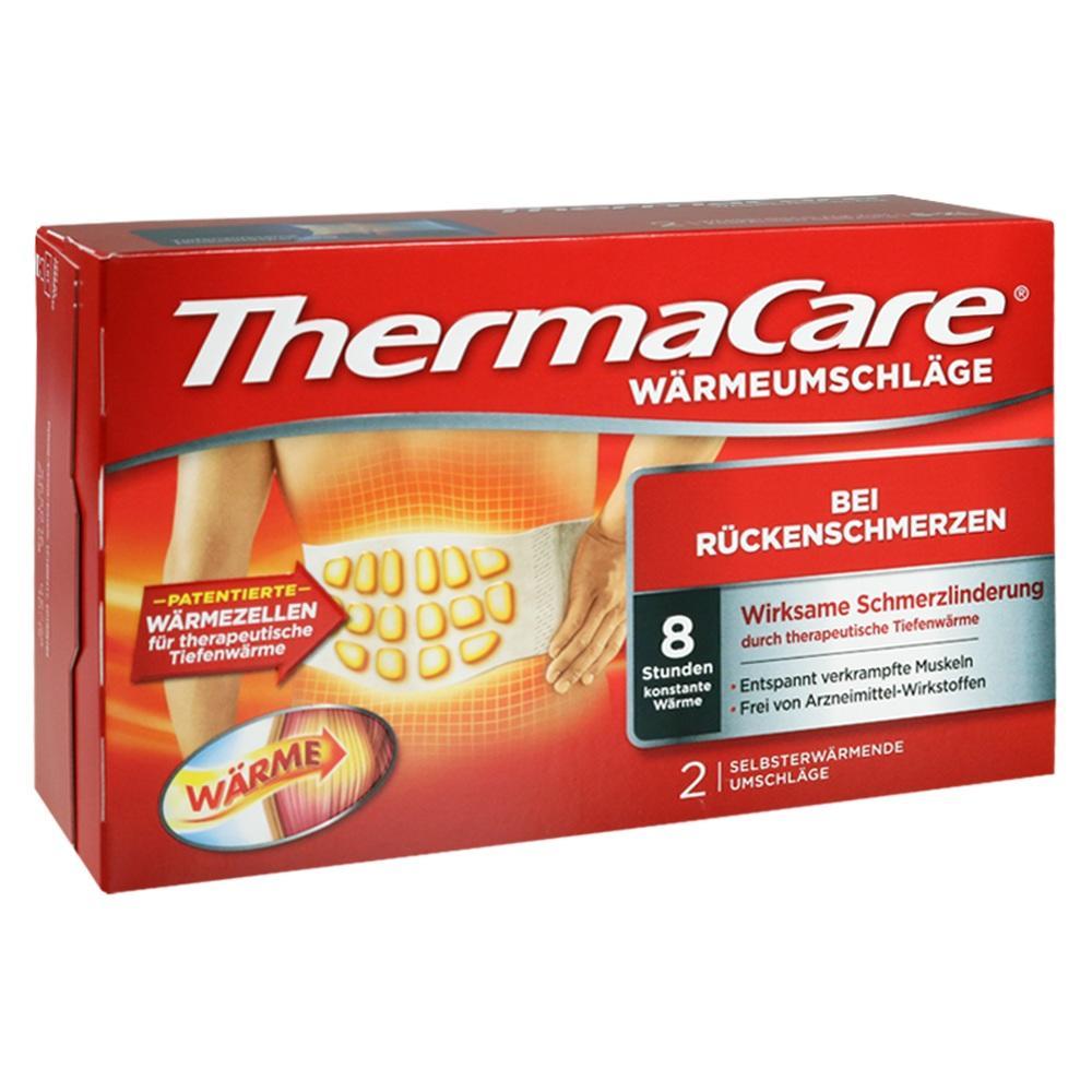 06683796, ThermaCare Rückenumschläge S-XL z.Schmerzlinderung, 2 ST