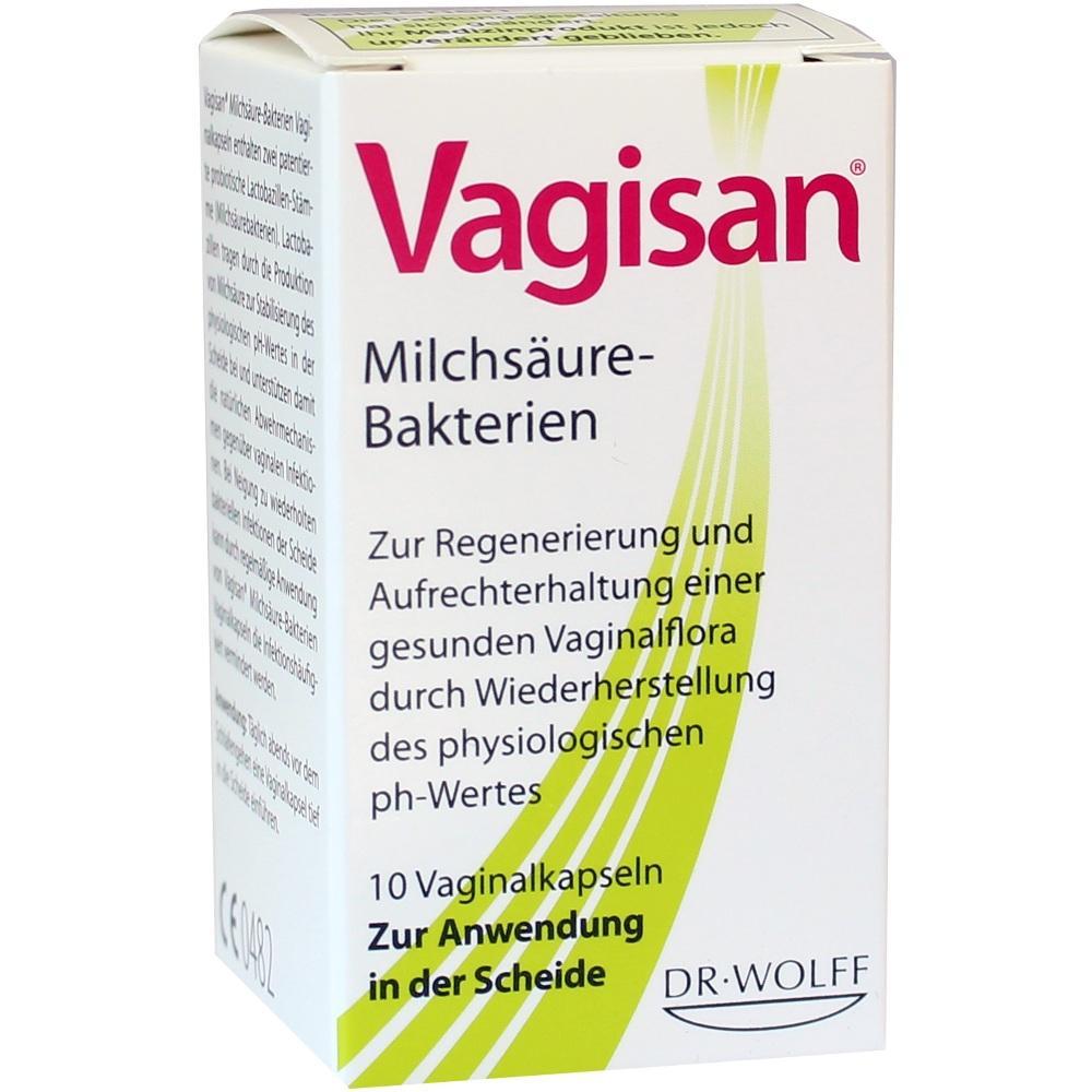 06705322, Vagisan Milchsäure-Bakterien, 10 ST