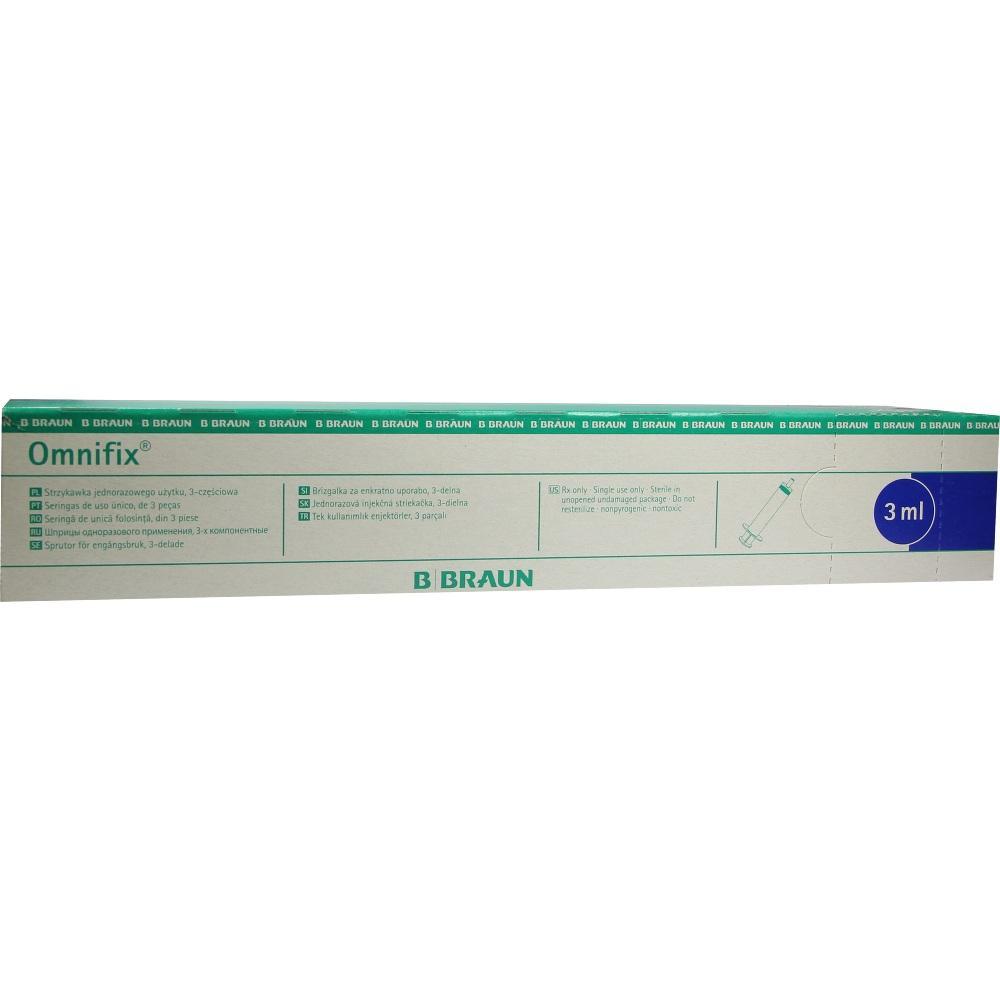 OMNIFIX Solo Spr.3 ml Luer Lock latexfrei