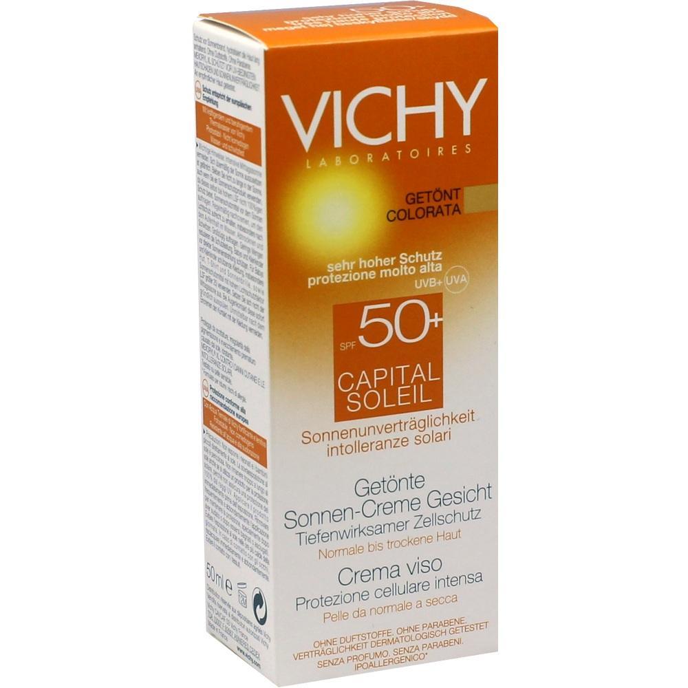 06712227, VICHY CAPITAL SOLEIL SONNENSCHUTZ-GEL-CREME LSF50+, 50 ML
