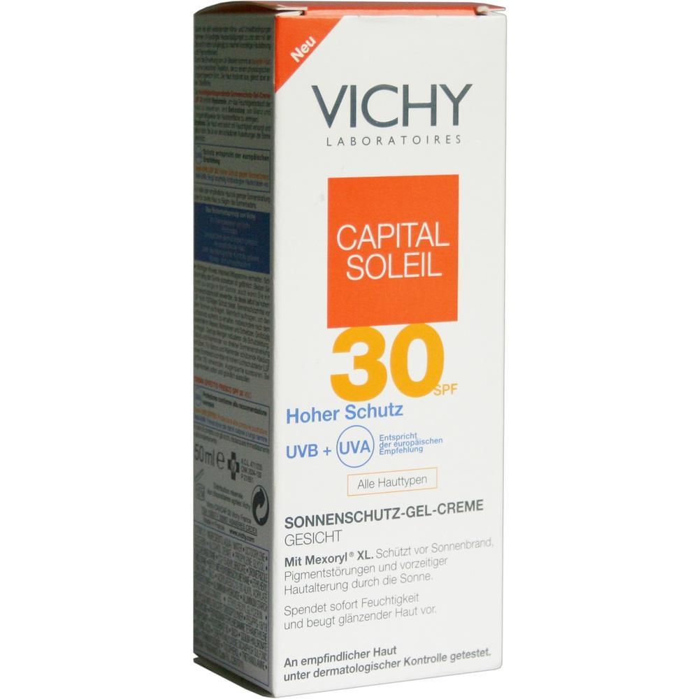 06712233, VICHY CAPITAL SOLEIL SONNENSCHUTZ-GEL-CREME LSF30, 50 ML