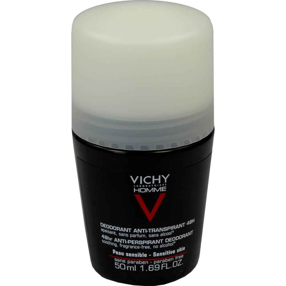 06712753, Vichy Homme Deo Roll-On sensible Haut, 50 ML