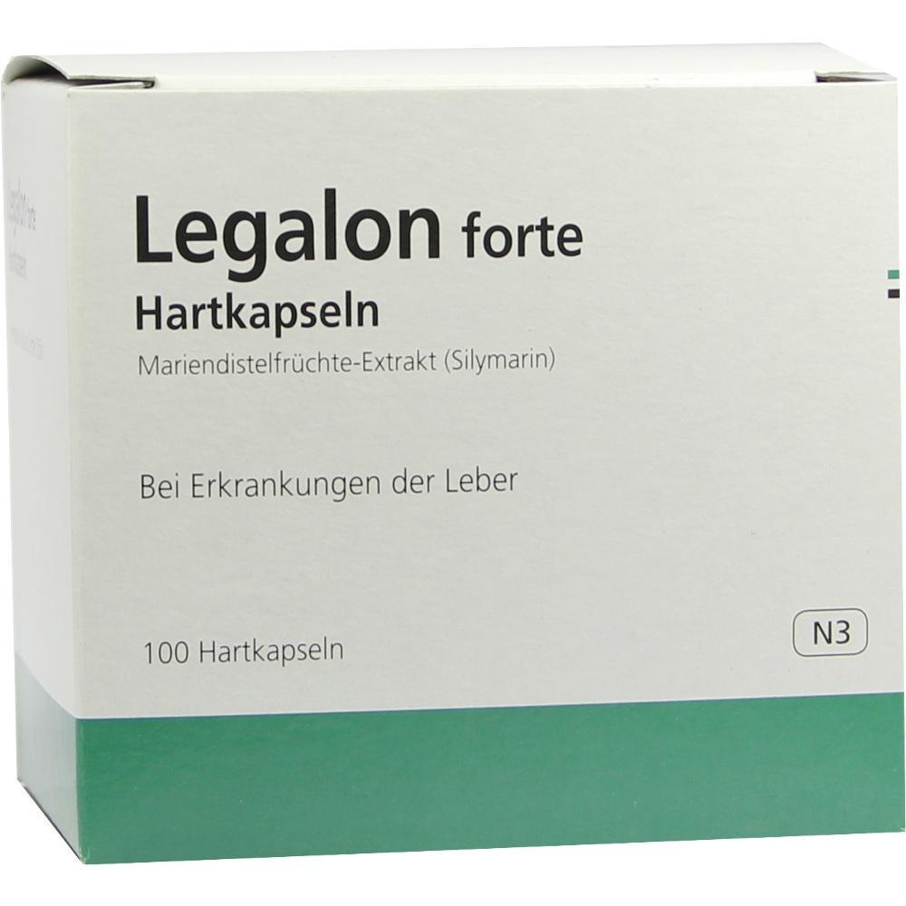 06718365, Legalon forte Kapseln, 100 ST