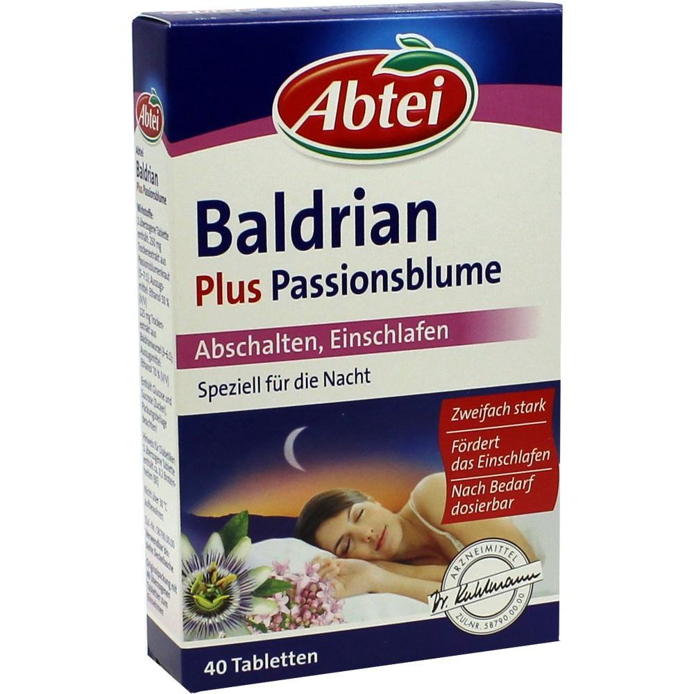 06765330, Abtei Baldrian plus Passionsblume, 40 ST