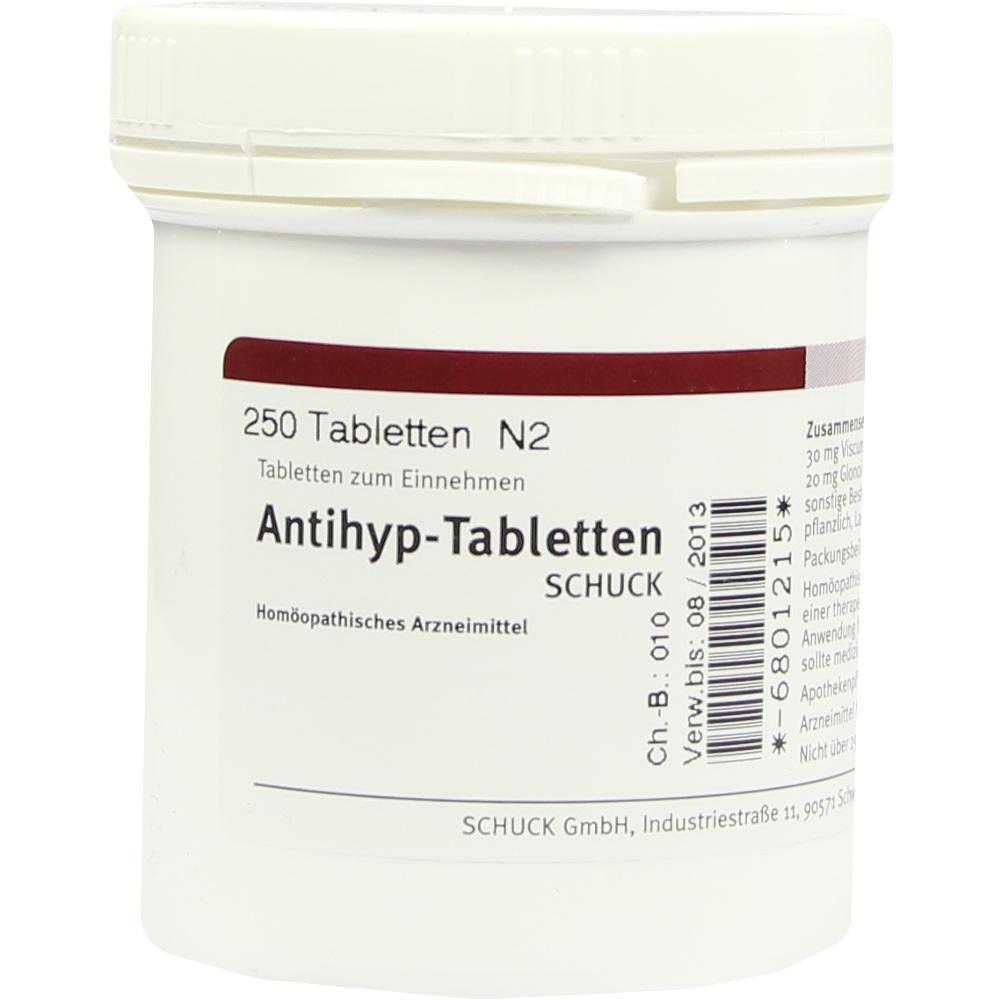 ANTIHYP Tabletten Schuck