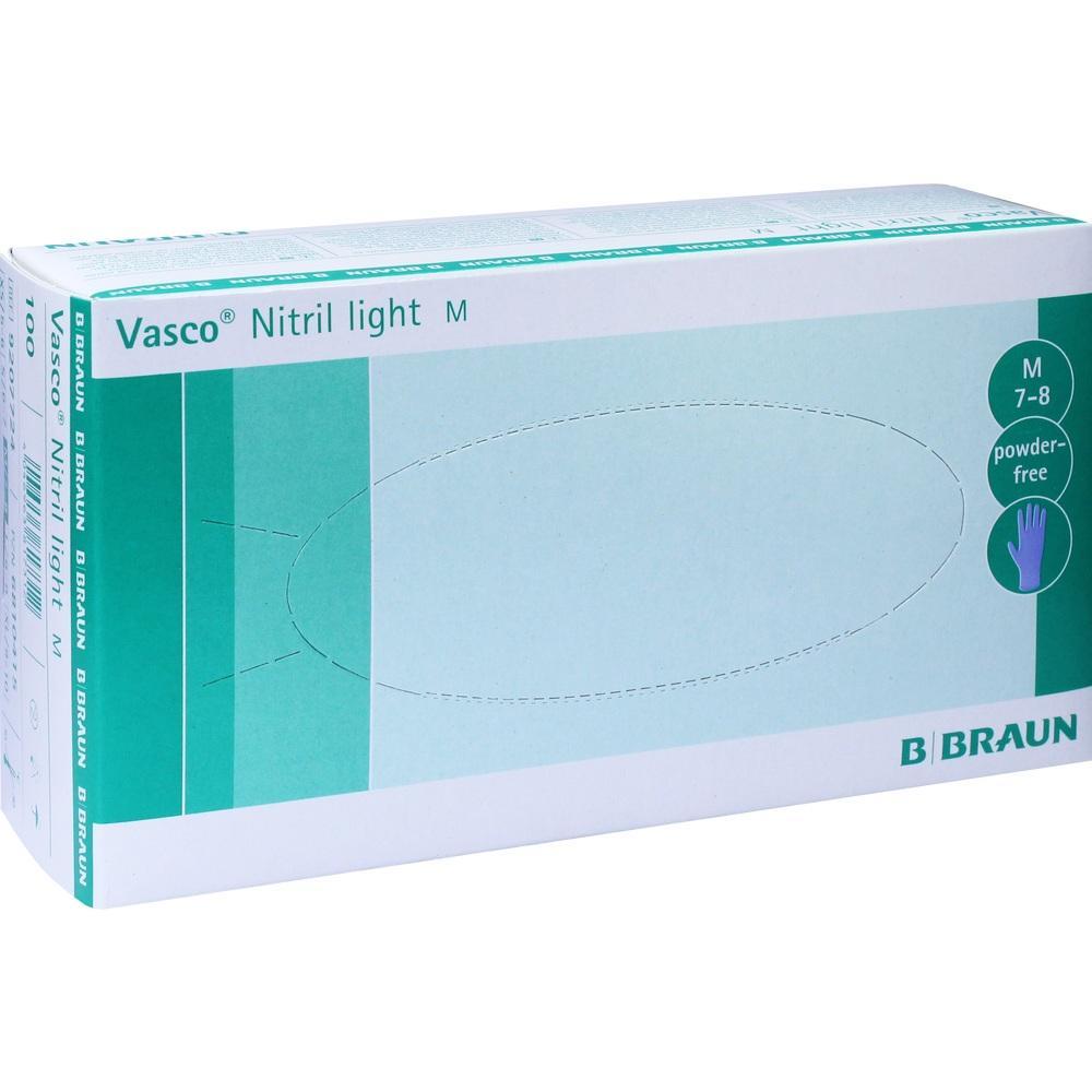 06810415, VASCO NITRIL LIGHT UH M, 100 ST