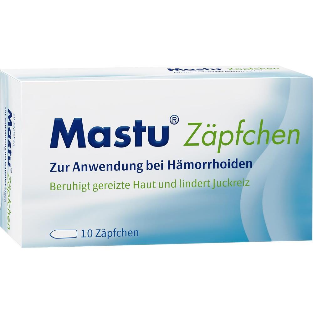 06835421, Mastu Zäpfchen, 10 ST
