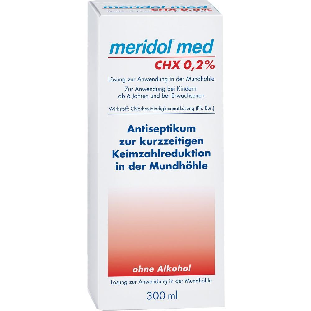 06846525, meridol med CHX 0.2% Spülung, 300 ML