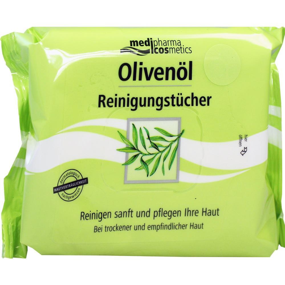 06862725, Olivenöl Reinigungstücher, 25 ST