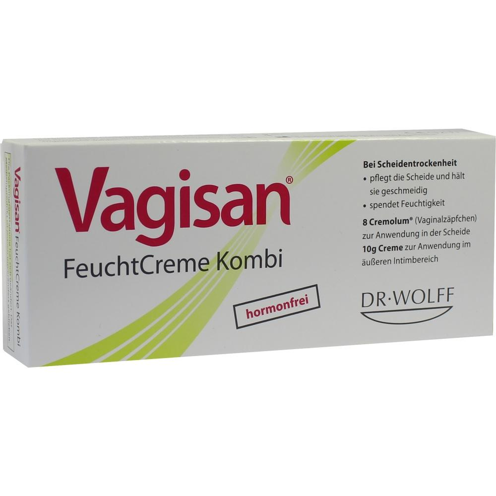 06882372, Vagisan FeuchtCreme Kombi 8 Ovula + 10g Creme, 1 P