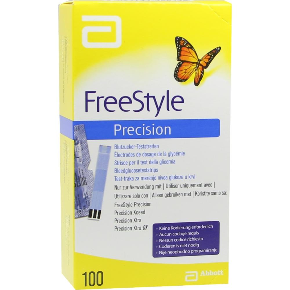 06905357, FreeStyle Precision Blutzucker-Teststr. o.Codieren, 100 ST