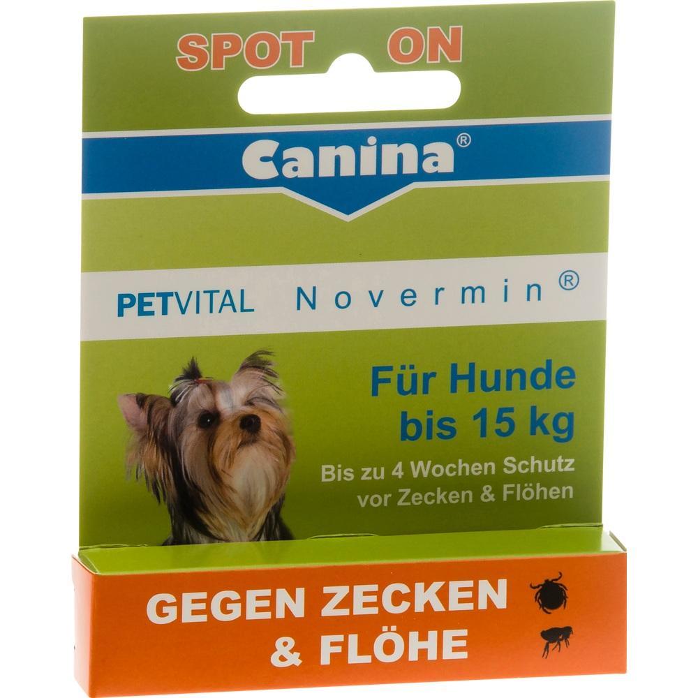 06907936, PETVITAL Novermin für Hunde bis 15kg vet., 2 ML