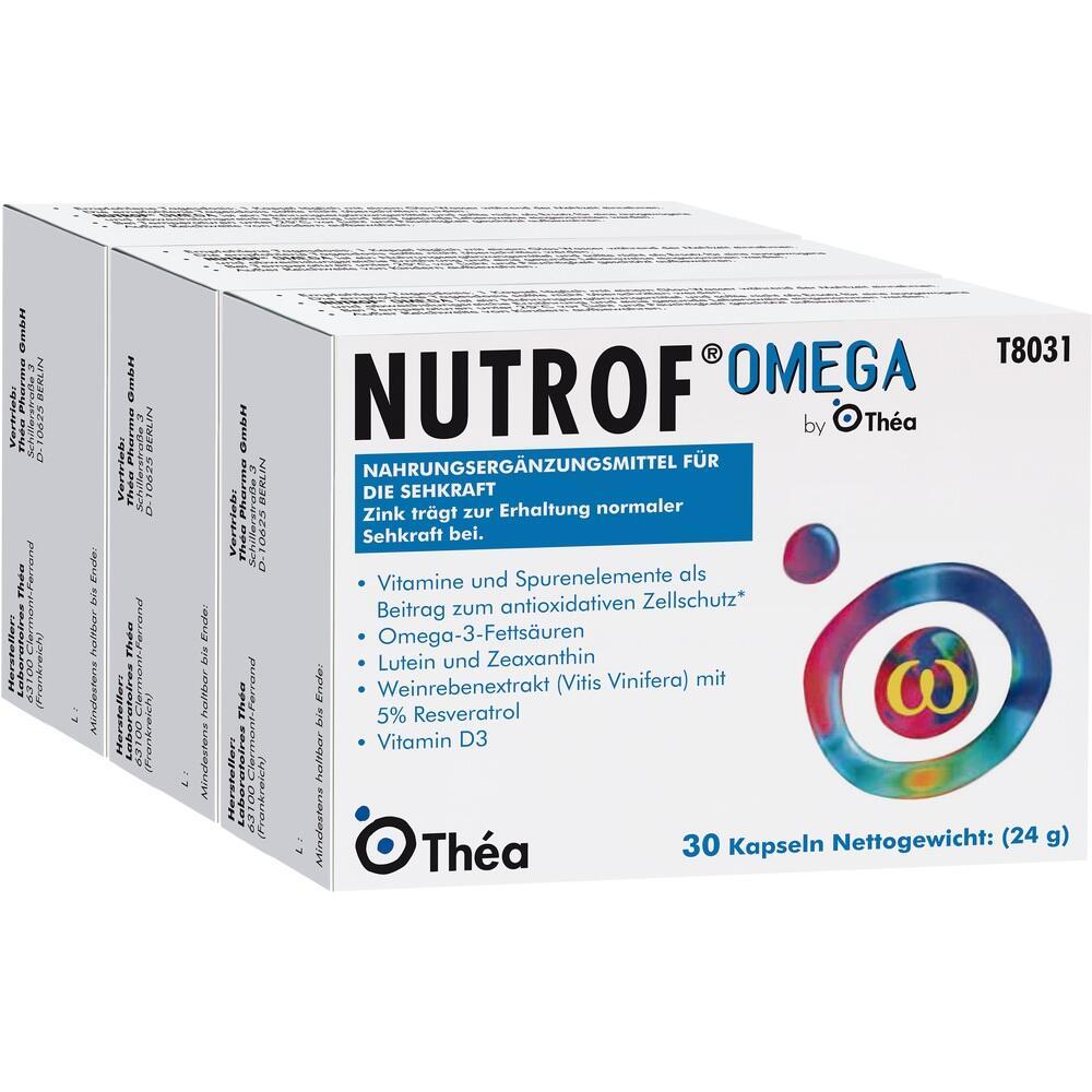 06909295, Nutrof Omega, 3X30 ST