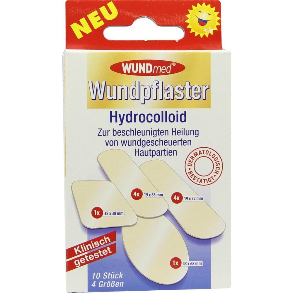 06910223, Wundpflaster Hydrocolloid 4 Größen, 10 ST