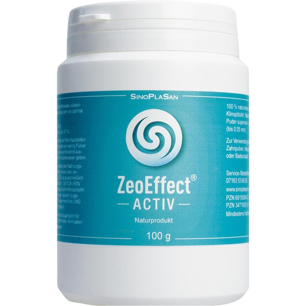 SinoPlaSan AG ZEOEFFEKT activ Clinoptilolith-Zeolith Pulver 06915054