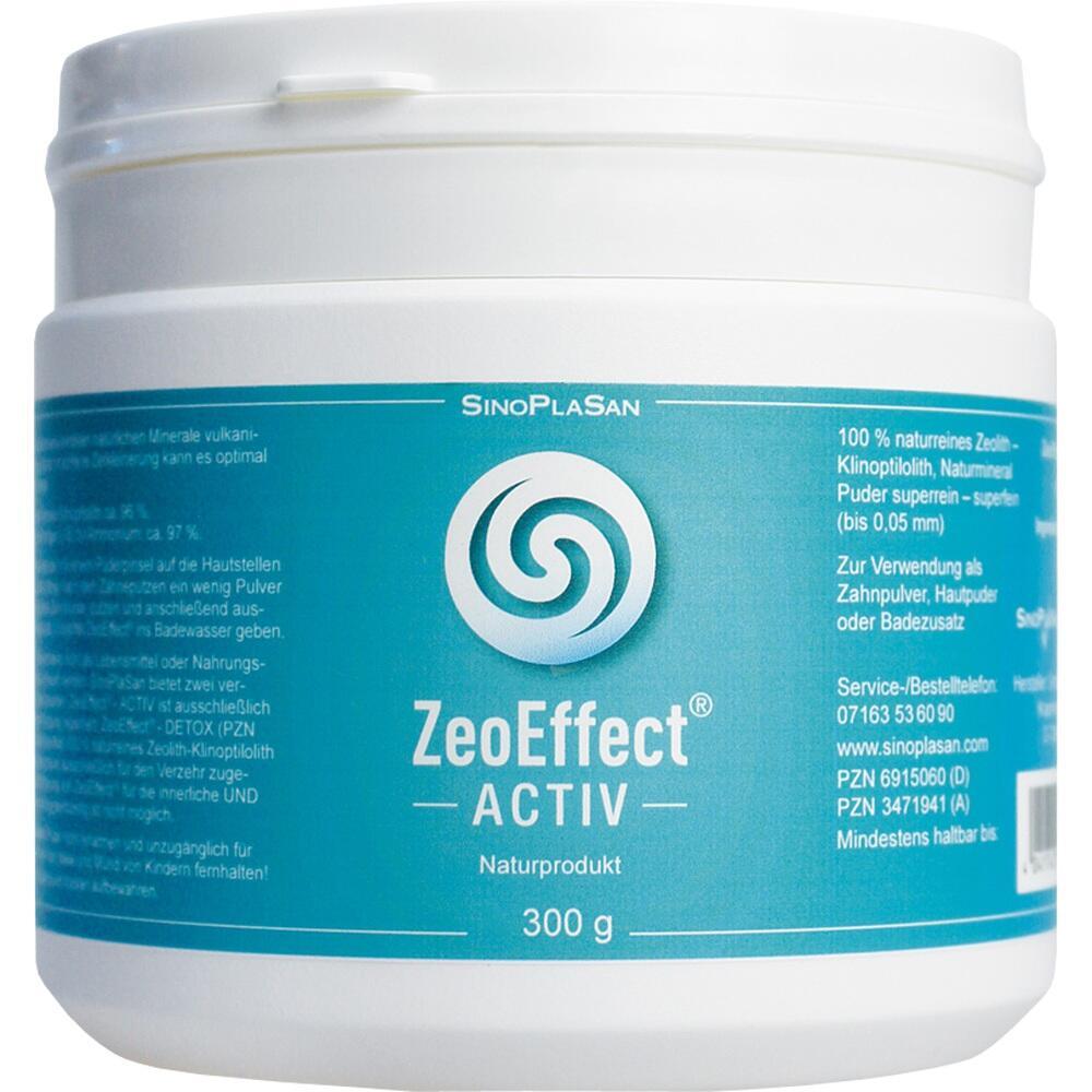 SinoPlaSan AG ZEOEFFEKT activ Clinoptilolith-Zeolith Pulver 06915060