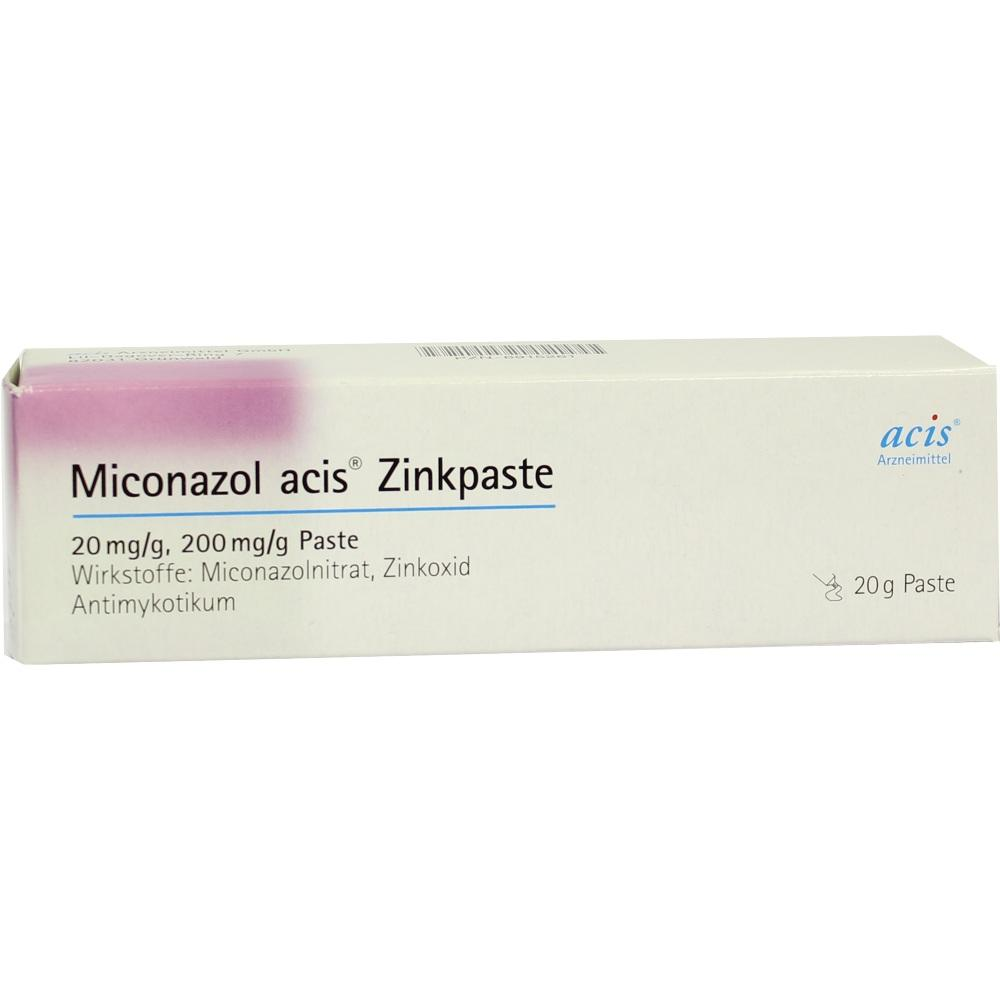 06915261, Miconazol acis Zinkpaste, 20 G