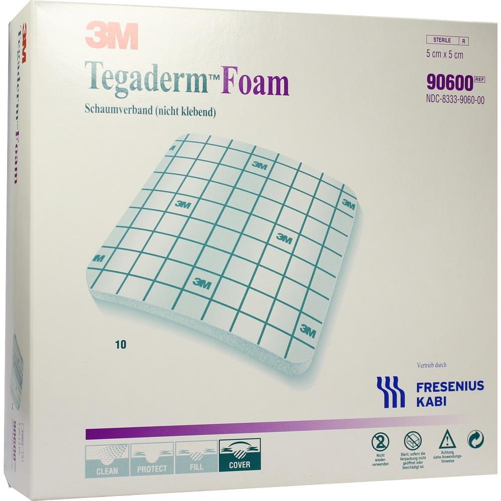 TEGADERM Foam Verband FK 5x5 cm 90600