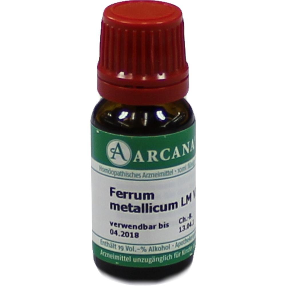 FERRUM METALLICUM LM 6 Dilution