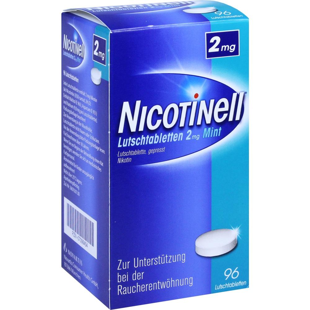 07006454, Nicotinell Lutschtabletten 2mg Mint, 96 ST