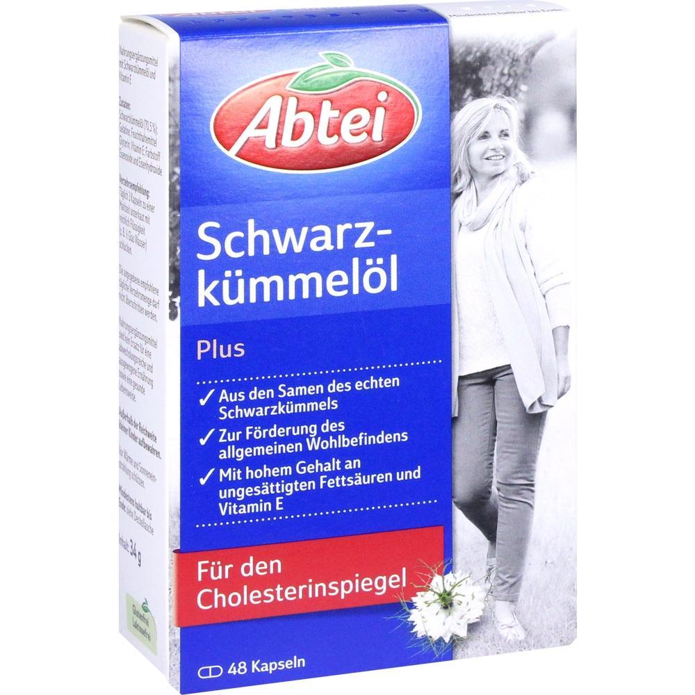 07043076, Abtei Schwarzkümmelöl Plus, 48 ST