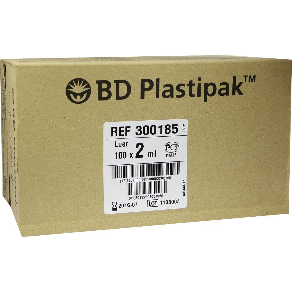 BD PLASTIPAK Spr.2 ml Luer