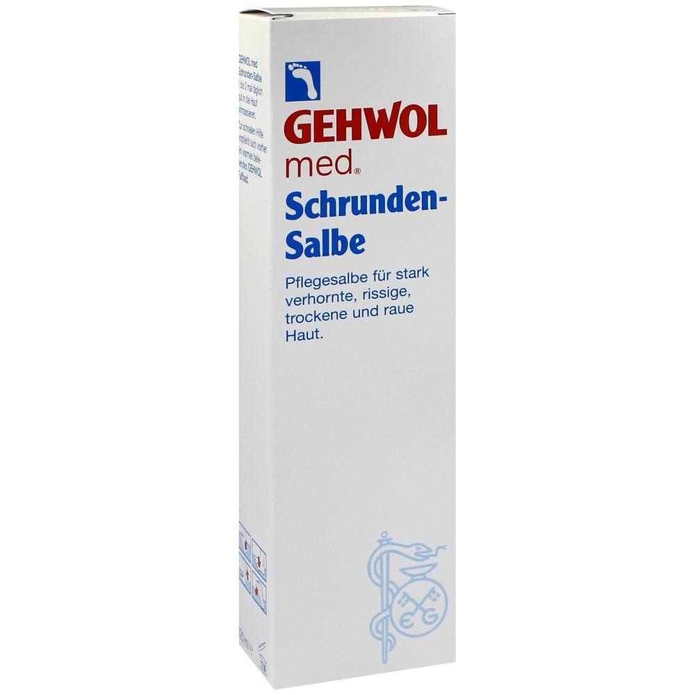 07123651, GEHWOL med Schrunden-Salbe, 125 ML