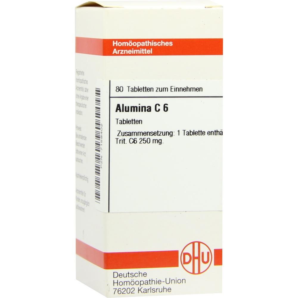 ALUMINA C 6 Tabletten
