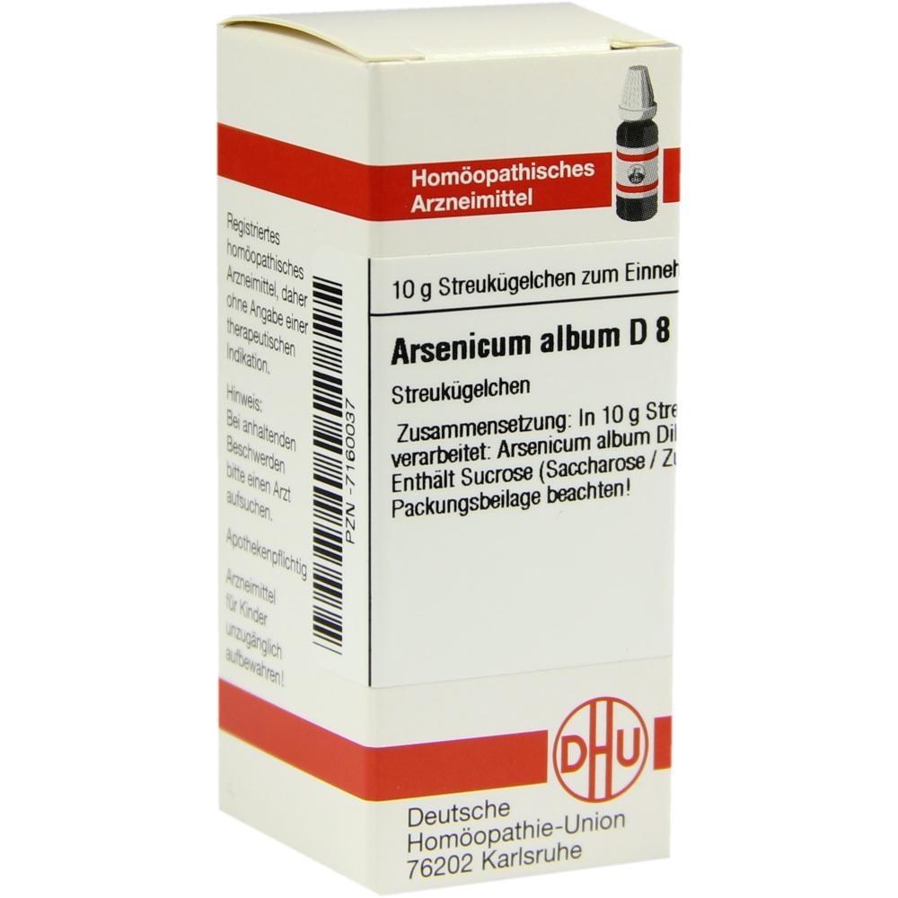 ARSENICUM ALBUM D 8 Globuli