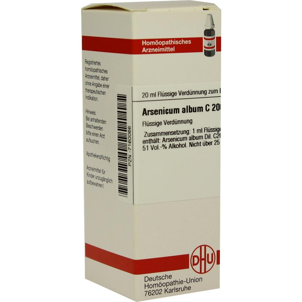 ARSENICUM ALBUM C 200 Dilution