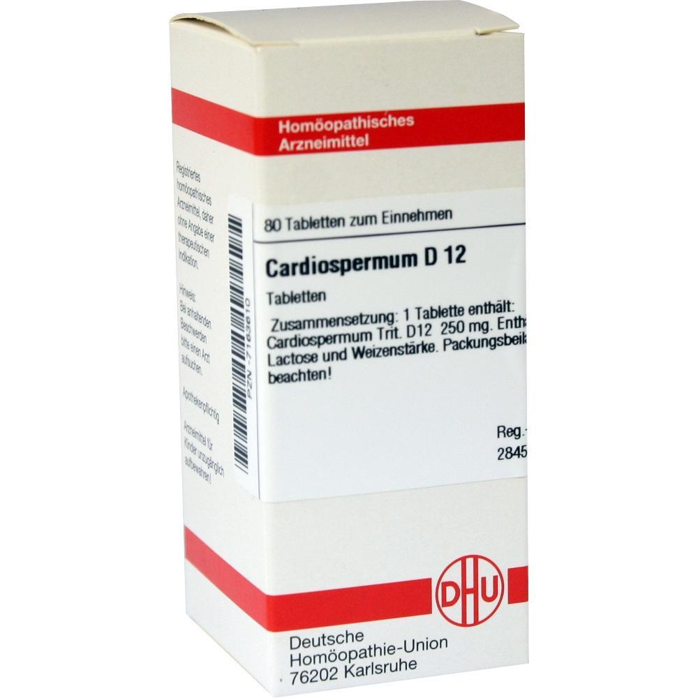 CARDIOSPERMUM D 12 Tabletten