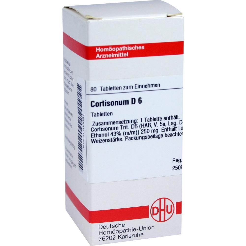CORTISONUM D 6 Tabletten