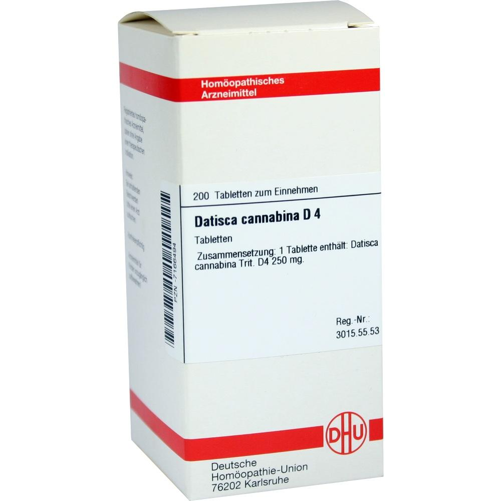 DATISCA cannabina D 4 Tabletten