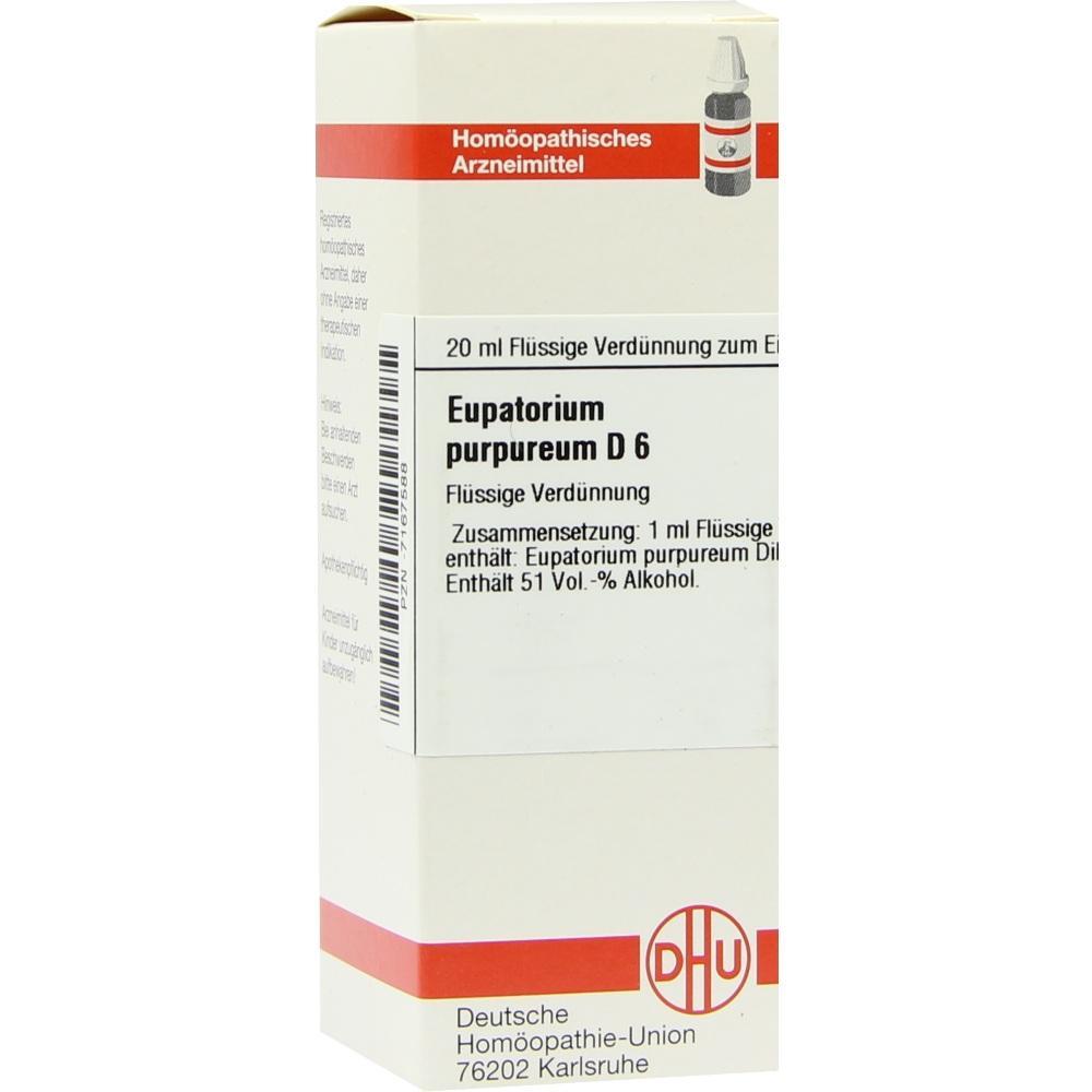 EUPATORIUM PURPUREUM D 6 Dilution