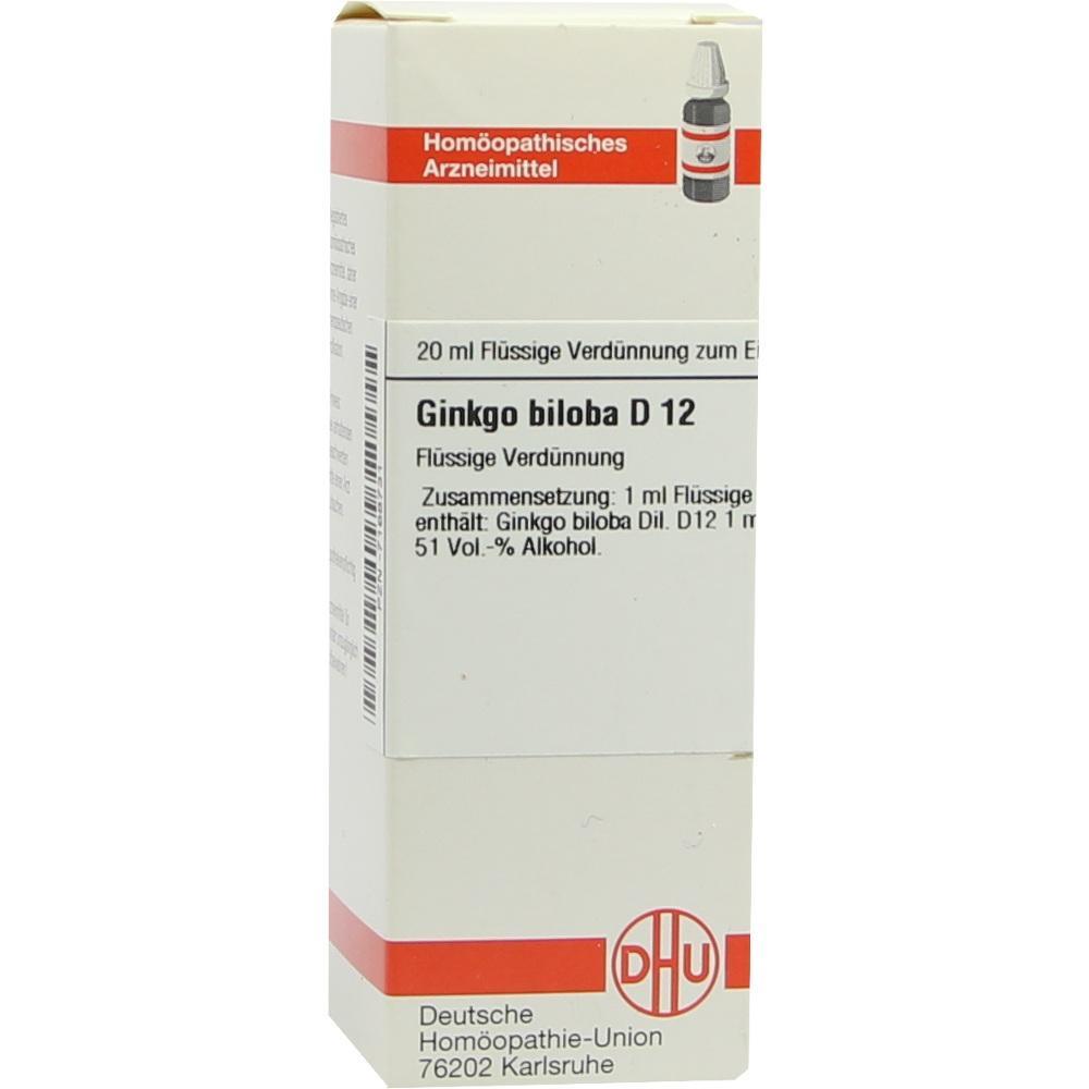 GINKGO BILOBA D 12 Dilution