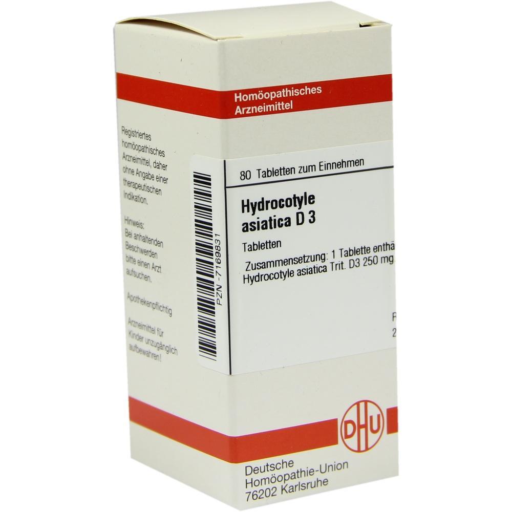 HYDROCOTYLE asiatica D 3 Tabletten