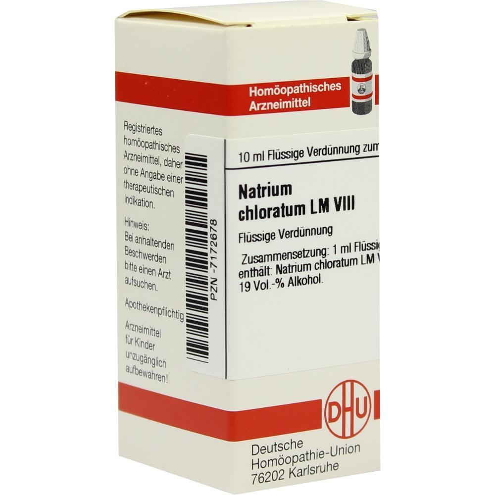 LM NATRIUM chloratum VIII Dilution