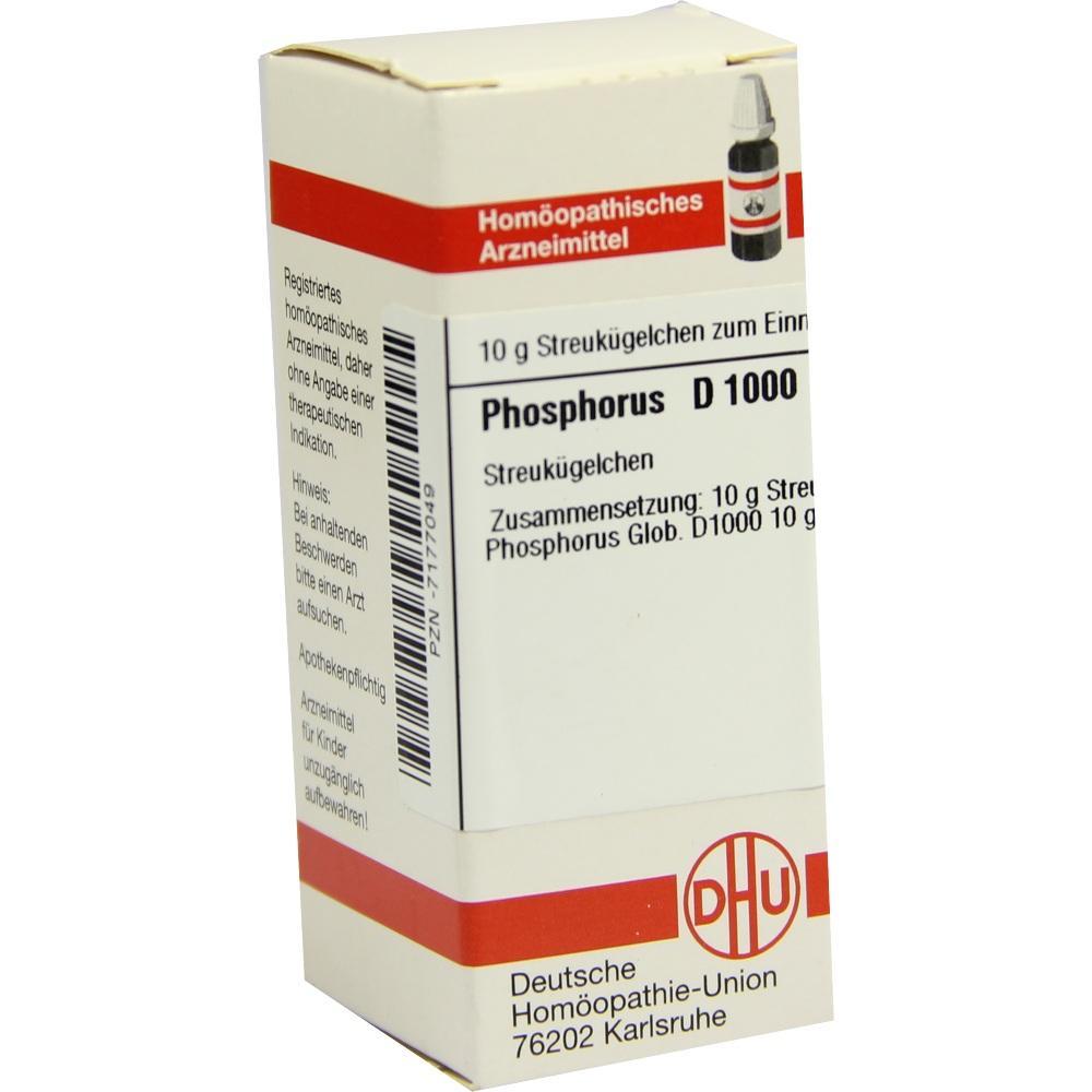 PHOSPHORUS D 1000 Globuli