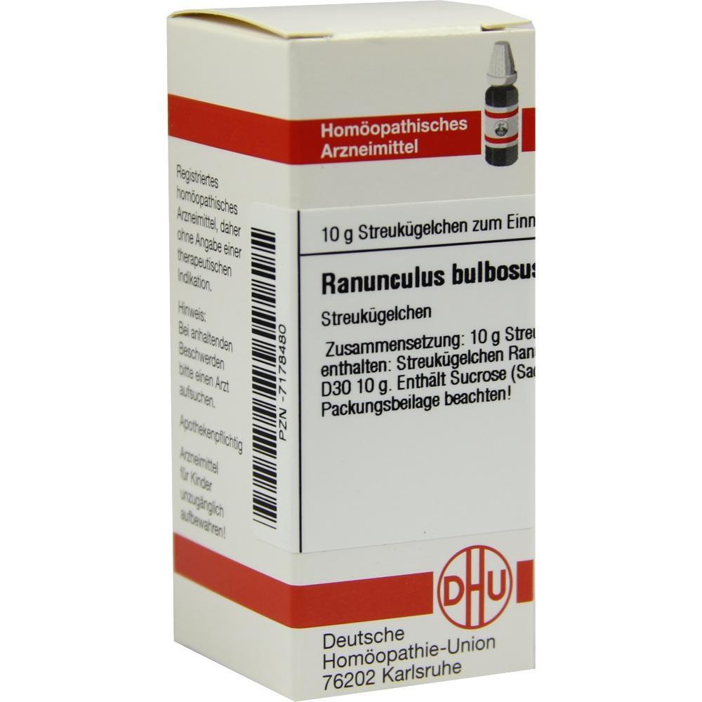RANUNCULUS BULBOSUS D 30 Globuli