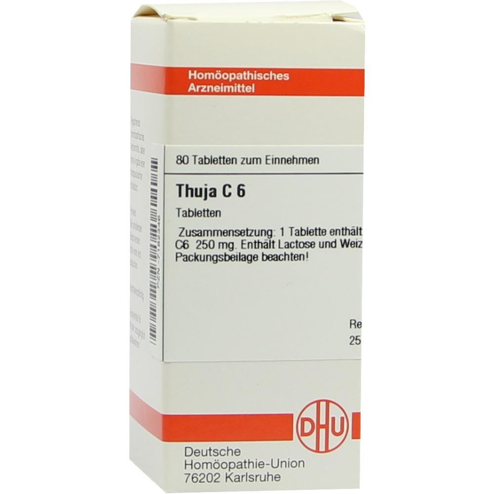 THUJA C 6 Tabletten